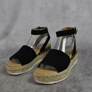 Women's Soda Espadrille Low Platform Sandals